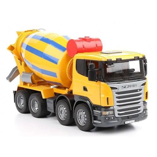 Camion betoniera Scania seria R, Bruder 03554