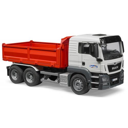 Camion MAN TGS cu bena basculanta, Bruder 03765