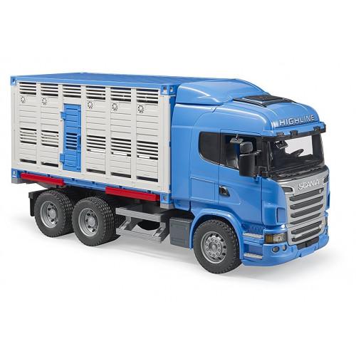 Camion Scania R-Serie transport bovine, Bruder 03549