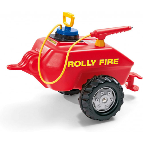 Cisterna Rolly Toys 122967 cu pompa de apa, Rolly Fire