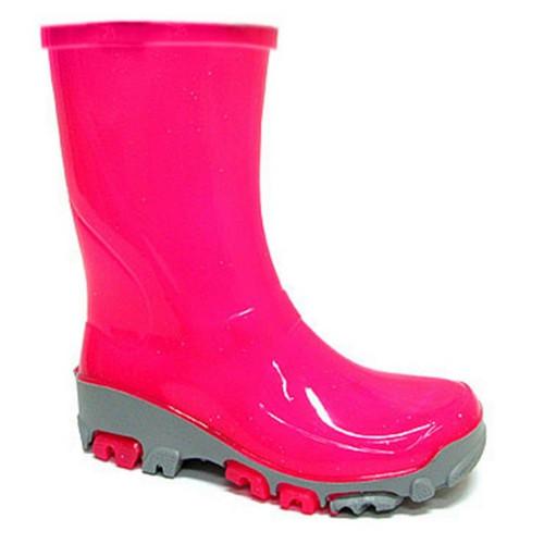 Cizme de cauciuc pentru copii, impermeabile pentru ploaie, roz