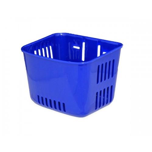 Cos pentru bicicleta, albastru inchis