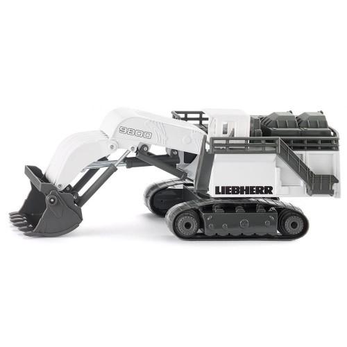 Excavator Liebherr Mining R9800, Siku 1798, scara 1:87