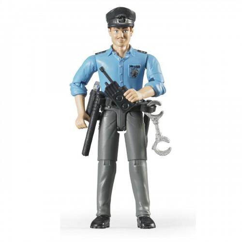 Figurina barbat politist Bruder® bworld® 60050