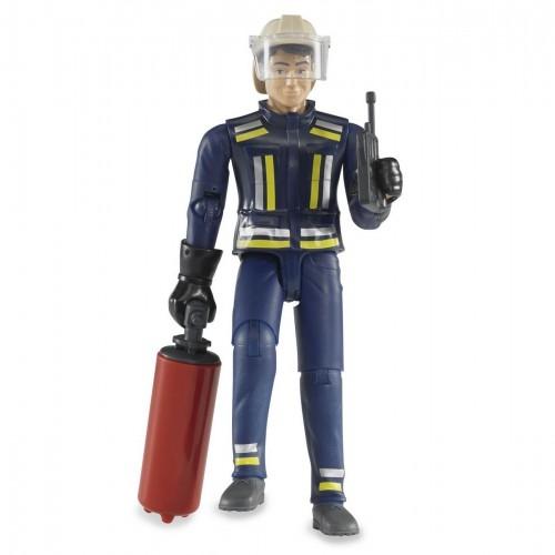 Figurina barbat pompier Bruder bworld 60100
