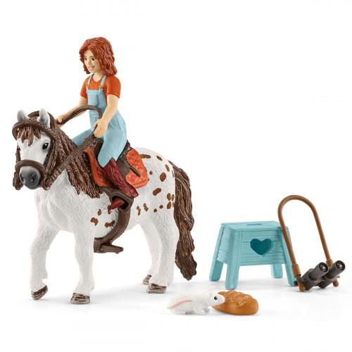 Figurina Horse Club, Mia si Spotty, Schleich 42518