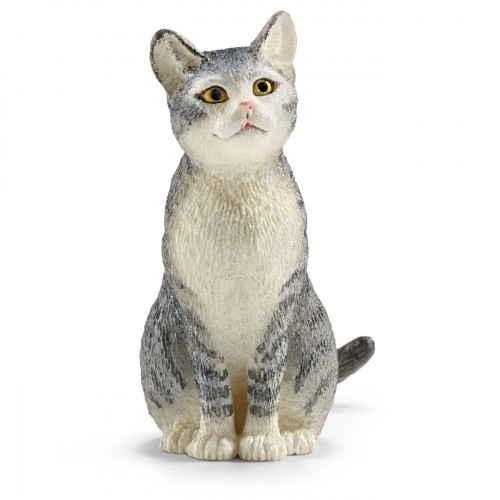 Figurina Schleich 13771, Pisica asezata