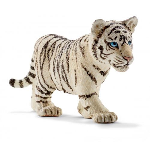 Figurina Schleich 14732, Pui de tigru alb
