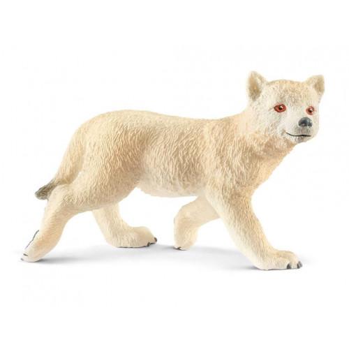 Figurina Schleich 14804, Pui de lup arctic