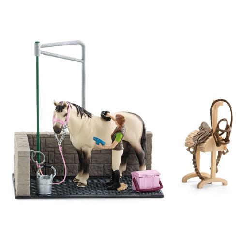 Figurina Schleich 42104, Zona de spalat caii