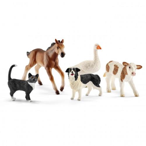 Figurina Schleich 42386, Animale lumea fermei asortate