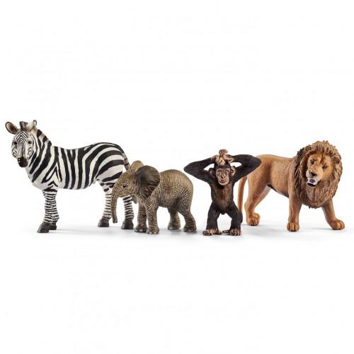 Figurina Schleich 42387, Set starter animale salbatice