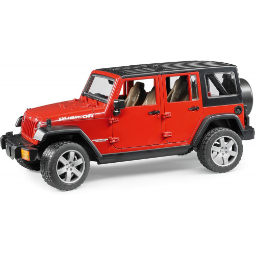 Jeep Wrangler Unlimited Rubicon Bruder 02525