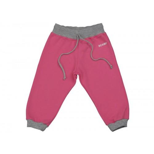 Pantaloni jogging DAN roz fucsia-gri