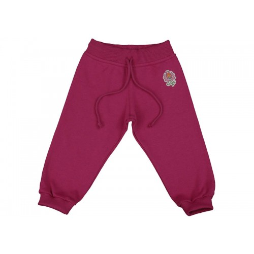 Pantaloni jogging DAN roșu ametist