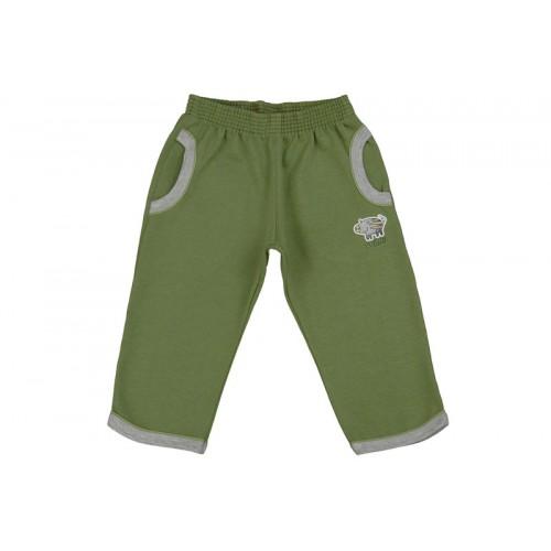 Pantaloni jogging LEO kaki