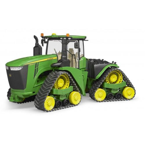 John Deere 9620RX tractor pe senile, Bruder 04055