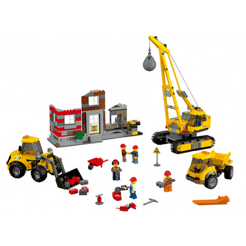 LEGO City, Santier de demolari 60076