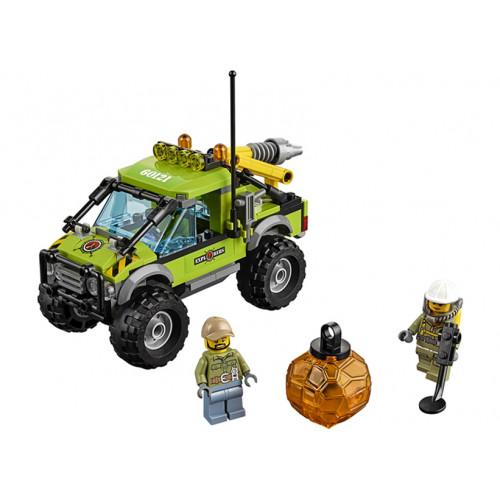 LEGO City, Camion de explorare a vulcanului 60121