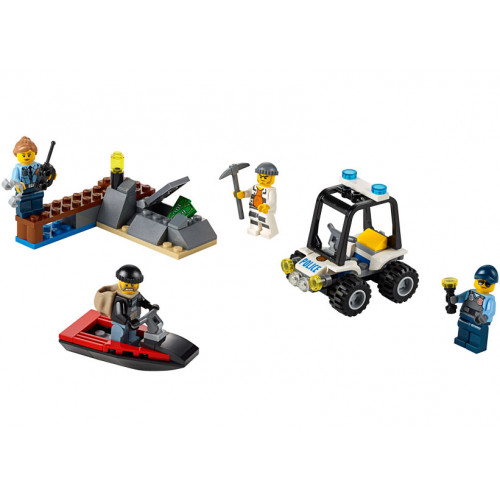 LEGO City, Set pentru incepatori - Inchisoarea de pe insula 60127