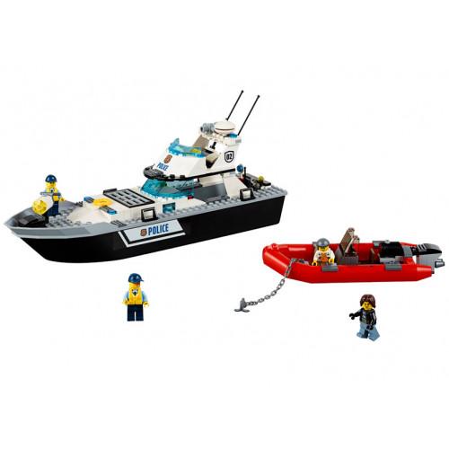 LEGO City, Nava de patrulare a politiei 60129