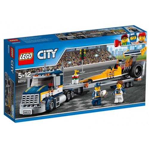 LEGO City, Transportor de dragster 60151