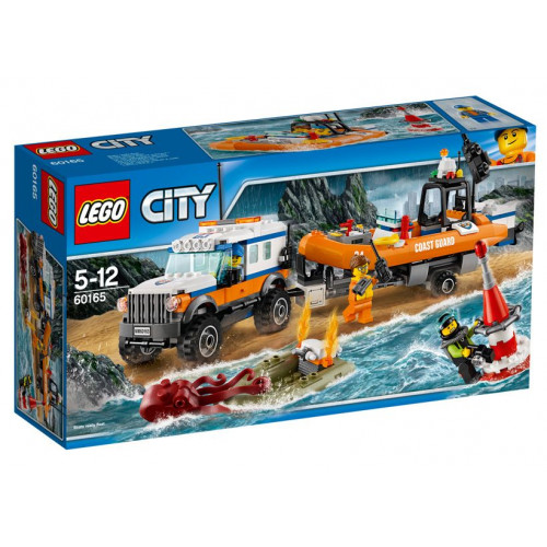 LEGO City, Unitatea de intervenție 4 x 4 60165