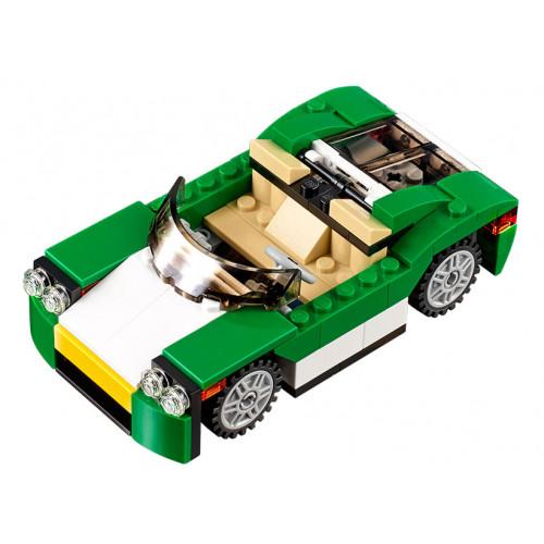LEGO Creator, Masina verde 31056
