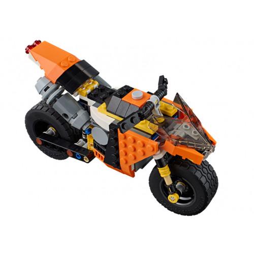 LEGO Creator, Motocicleta de oras 31059