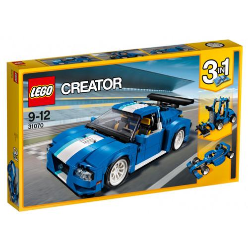 LEGO Creator, Masina pentru curse de raliu turbo 31070