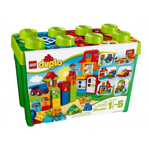 LEGO DUPLO, Cutie Deluxe de divertisment 10580