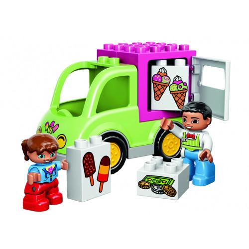 LEGO DUPLO, Furgoneta cu inghetata 10586