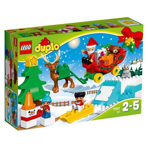 LEGO DUPLO, Vacanta de iarna cu Mos Craciun, 10837