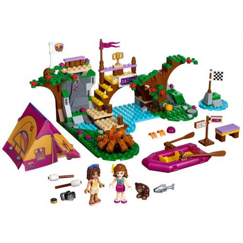 LEGO Friends, Tabara de aventuri: Rafting 41121