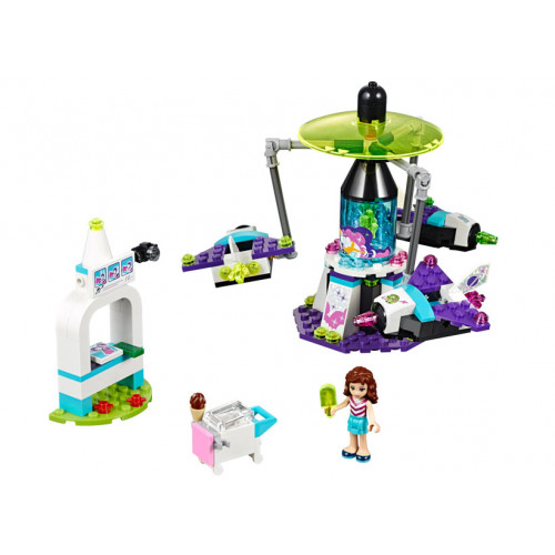 LEGO Friends, Calatorie spatiala in parcul de distractii 41128
