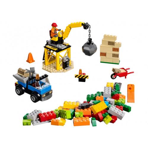 LEGO Juniors, Santier de constructii 10667