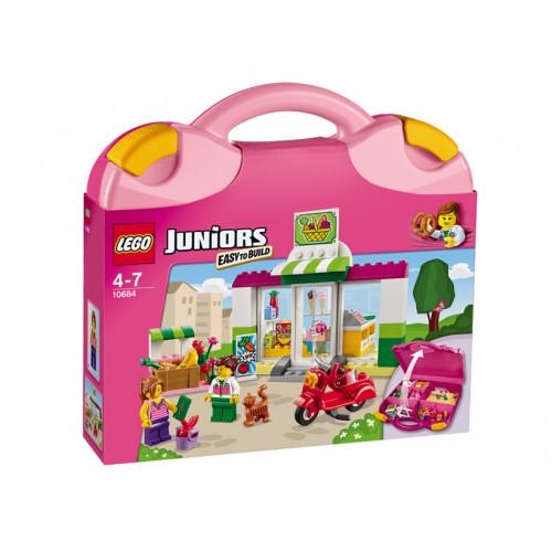 LEGO Juniors, Valiza Supermarket 10684
