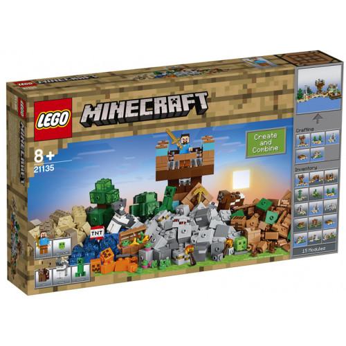LEGO Minecraft, Cutie de crafting 2.0, 21135