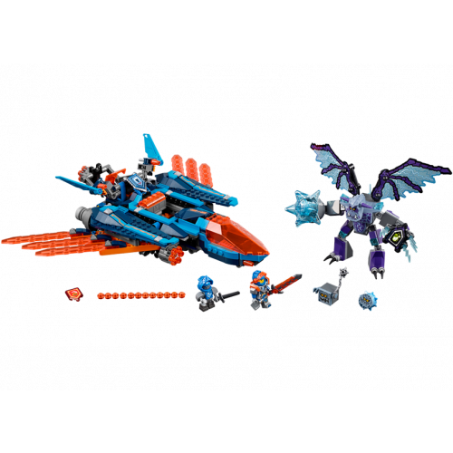 LEGO Nexo Knights, Avionul Falcon Blaster al lui Clay 70351