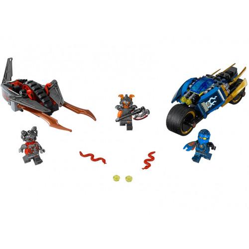 LEGO Ninjago, Motocicleta Fulger a lui Jay 70622