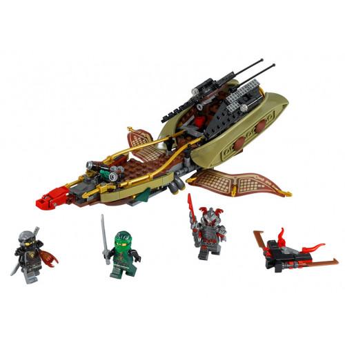 LEGO Ninjago, Destiny's Shadow - barca multifunctionala 70623