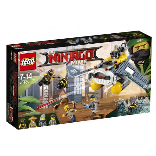 LEGO Ninjago, Bombardier Diavol de Mare, 70609