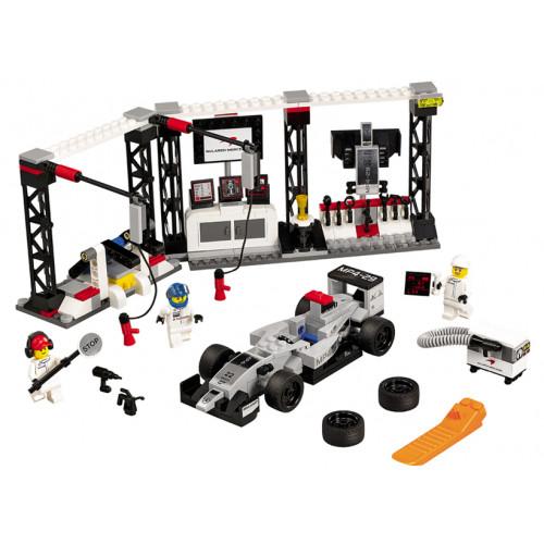 LEGO Speed Champions, Oprirea la boxe McLaren Mercedes 75911