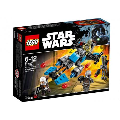 LEGO Star Wars, Motocicleta de viteza Bounty Hunter, 75167