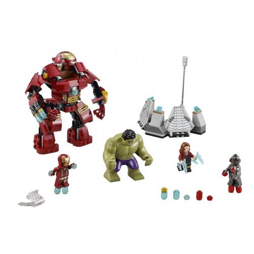 LEGO Marvel Super Heroes, Lovitura Hulk Buster 76031