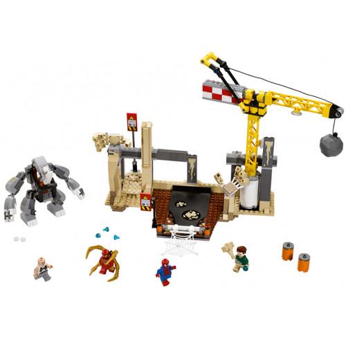 LEGO Marvel Super Heroes, Alaturarea super malefica de forte dintre Rhino si Sandman 76037