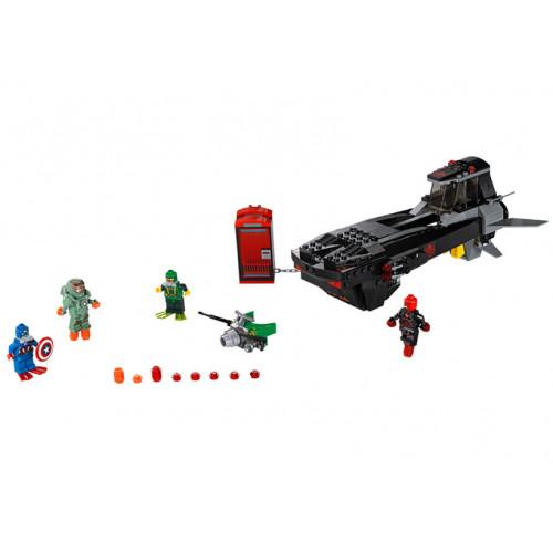 LEGO Marvel Super Heroes, Atacul submarin al lui Iron Skull 76048