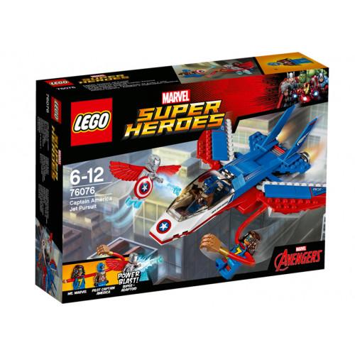 LEGO Marvel Super Heroes, Capitanul America si urmarirea avionului cu reactie, 76076