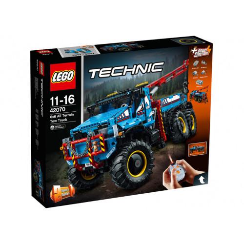 LEGO Technic, Camion de remorcare 6x6, 42070