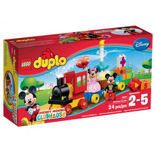 LEGO DUPLO, Parada de ziua lui Mickey & Minnie, 10597